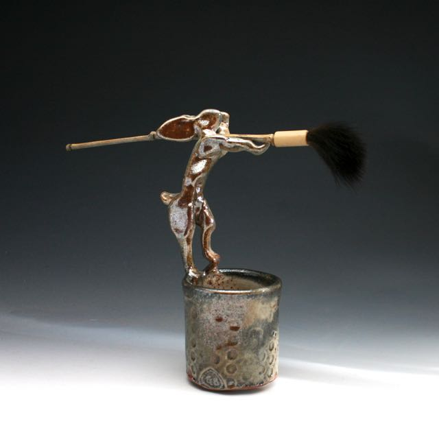 handmade brush Troy Bungart